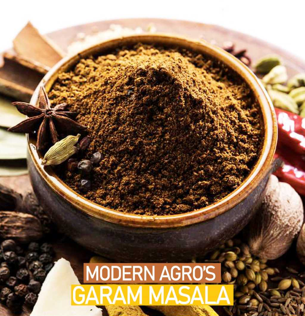 Modern Agro's Garam Masala Powder : The perfect blend for all your dishes