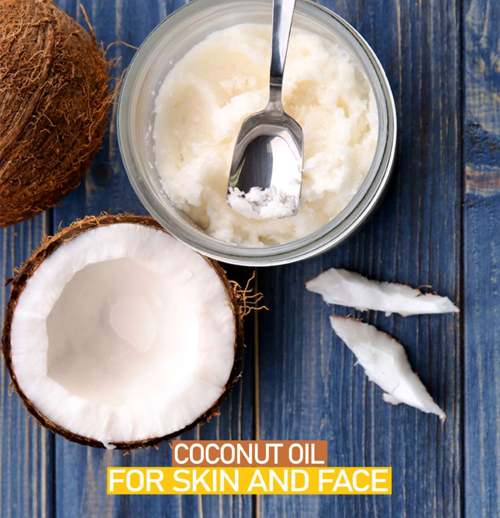 5 Ways To Improve Skin Health by using Coconut Oil for Skin and Face
