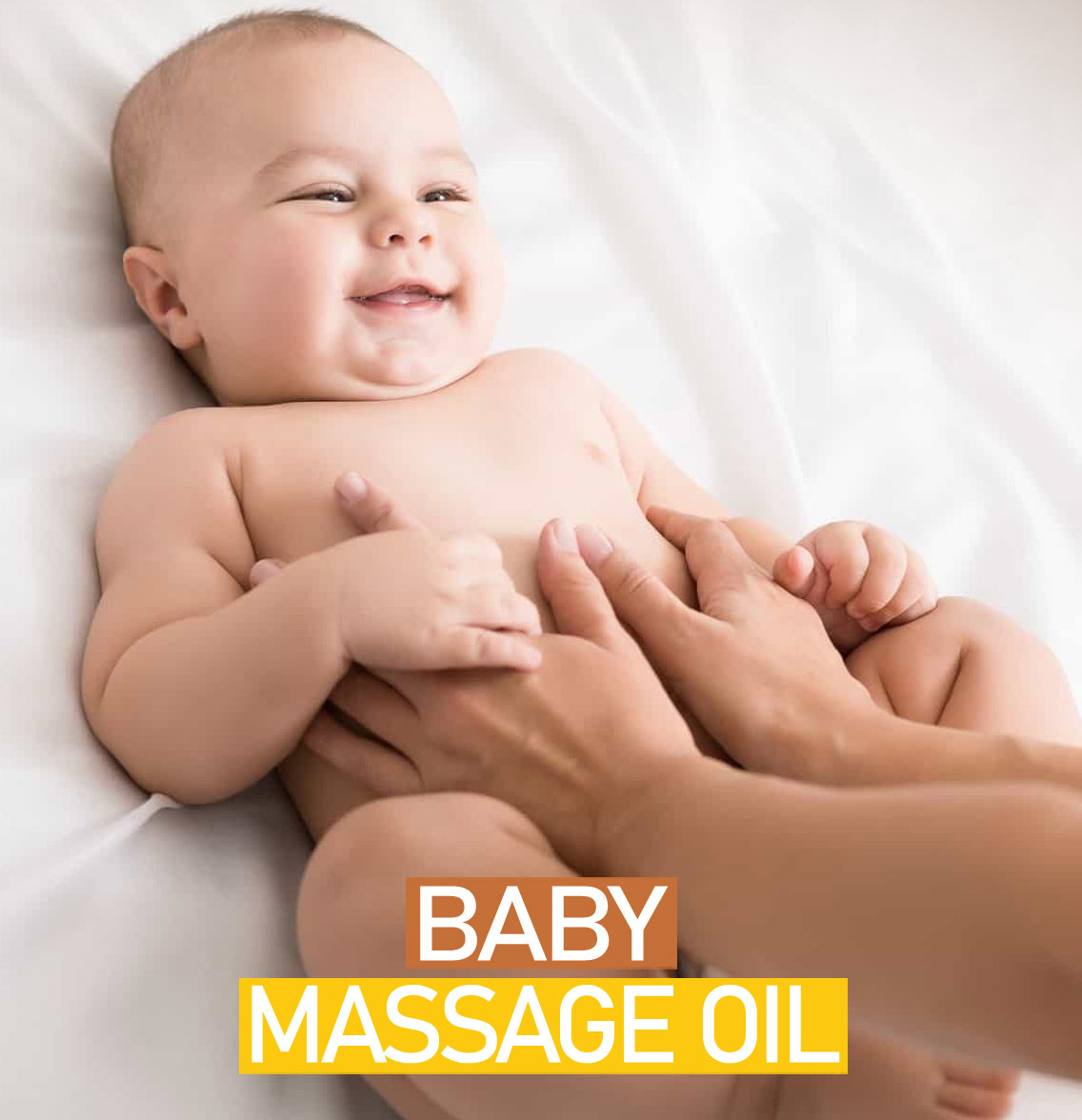 Baby Massage Oil for Ultra-Soft Skin