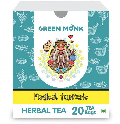 Buy Green Monk Organic Magical Turmeric Tea