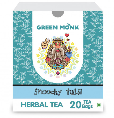 Buy Green Monk Organic Smoochy Tulsi Tea